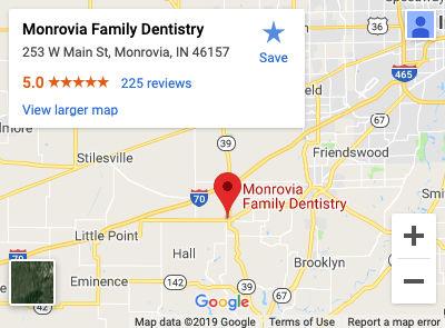 Monrovia Family Dentistry Map
