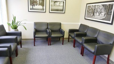 Monrovia Family Dentistry Waiting Room